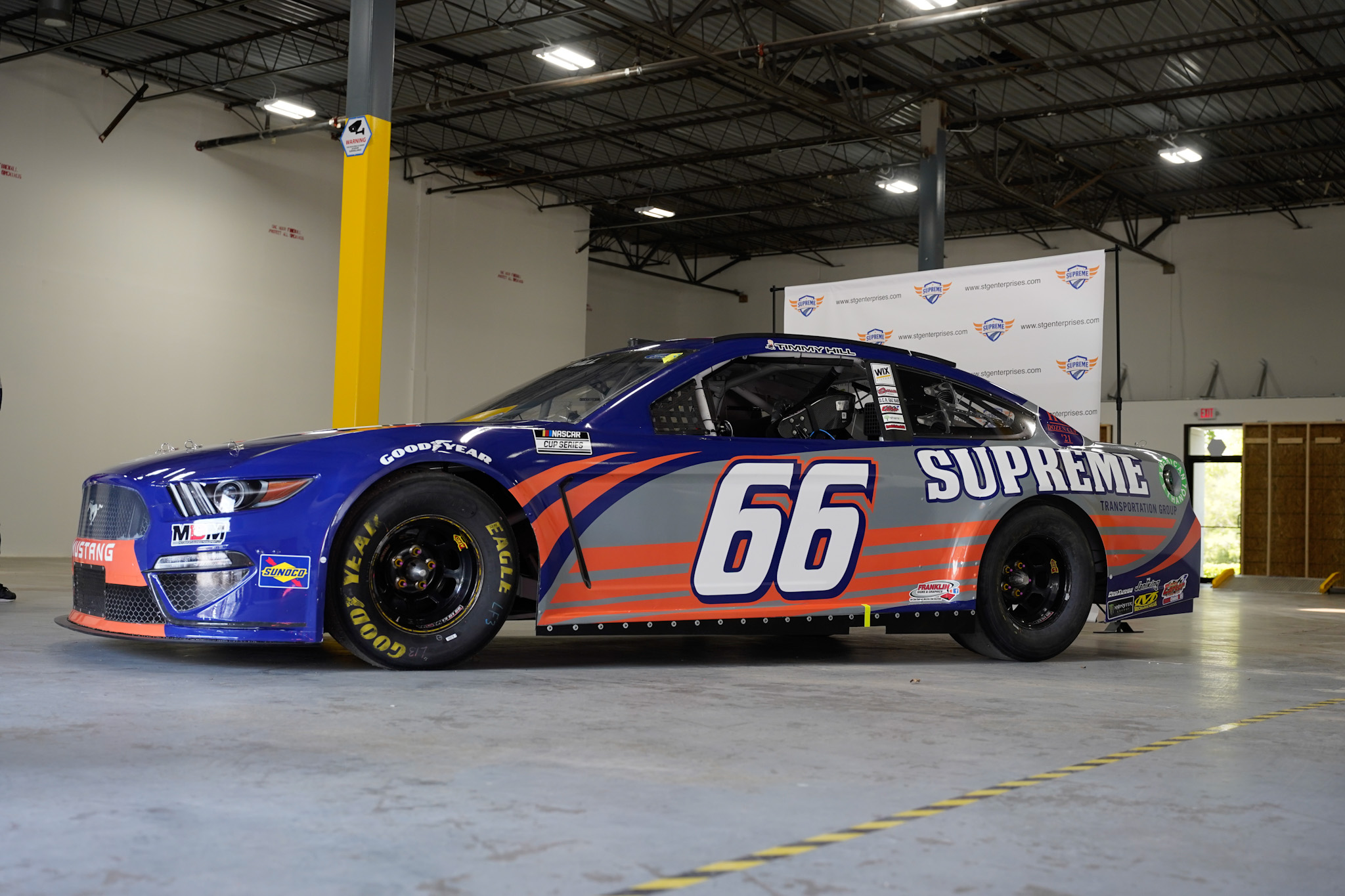 Supreme Transportation Group-branded nascar