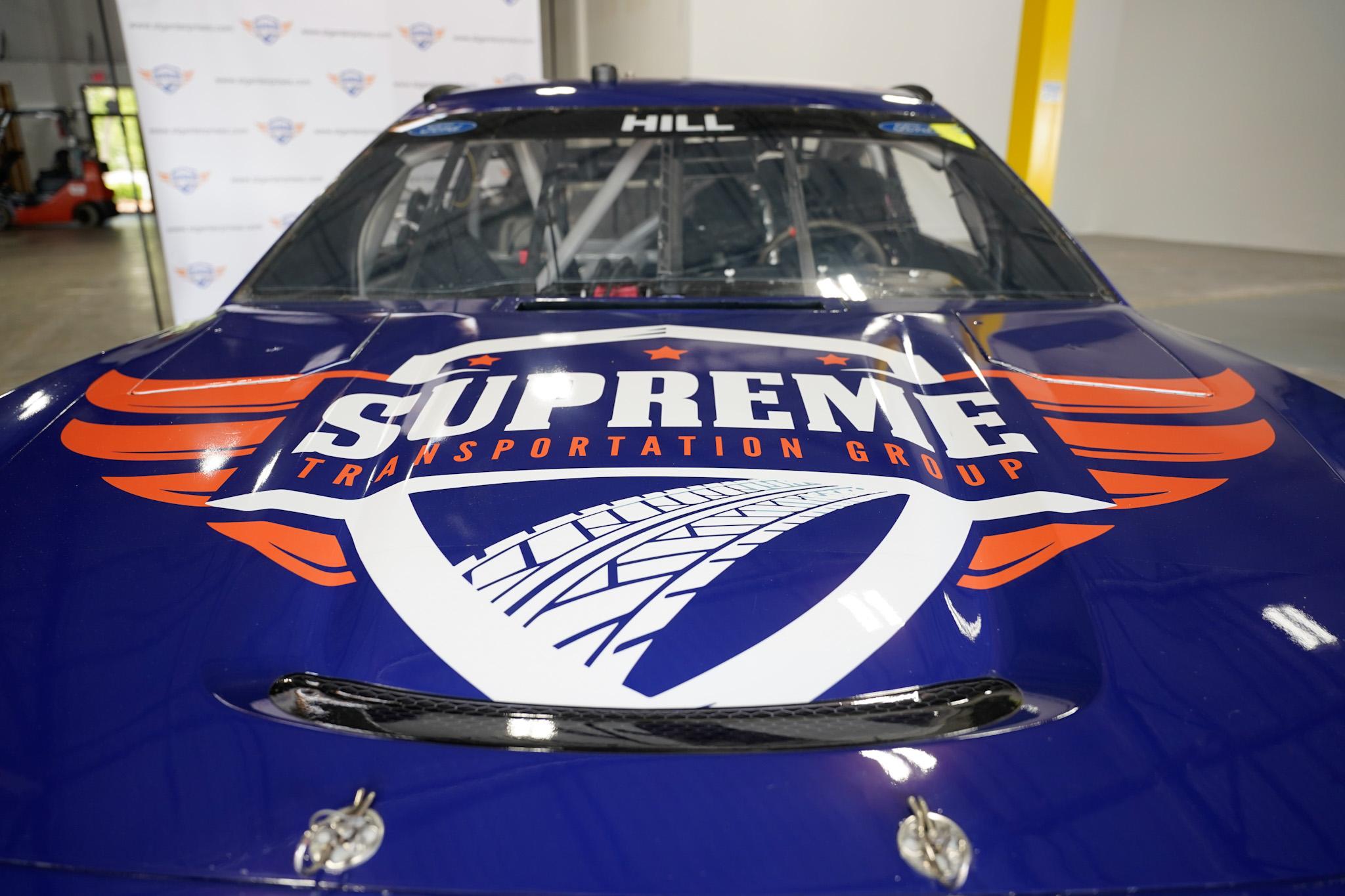 Supreme Transportation Group-branded nascar -
